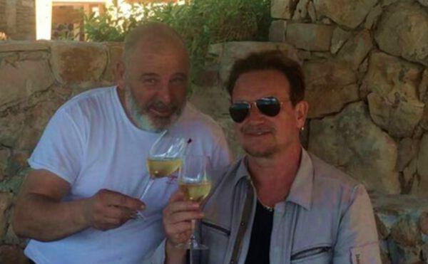 U2 Frontman Bono Vox Blown Away by Croatian Chef