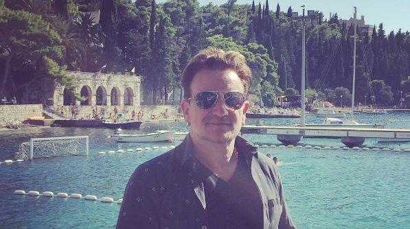 Bono Vox Joins U2 Band Members on Croatian Holiday