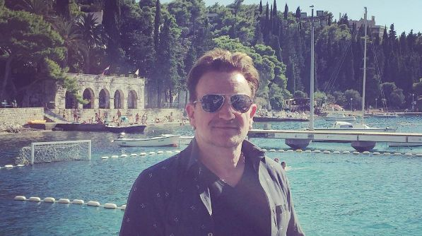 Bono Vox Joins U2 Band Members on Croatian Holiday