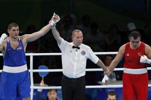 Filip beat Ali Eren Demirezen of Turkey in the first round   (photo credit: EPA/ Valdrin Xhemaj)
