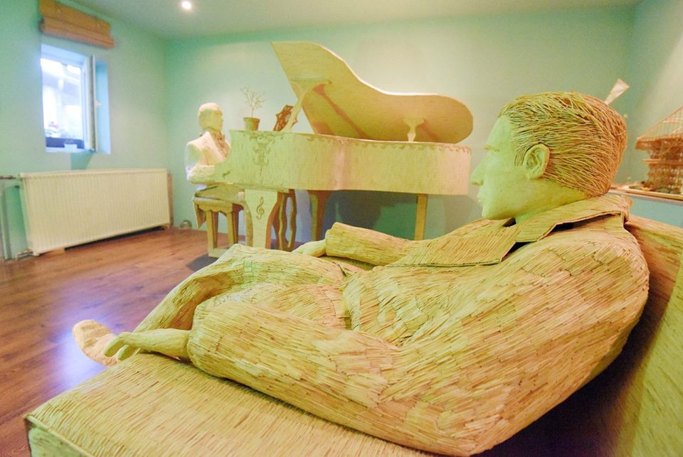 [PHOTOS] Croatian Matchstick Artist Completes His Biggest Sculpture Yet