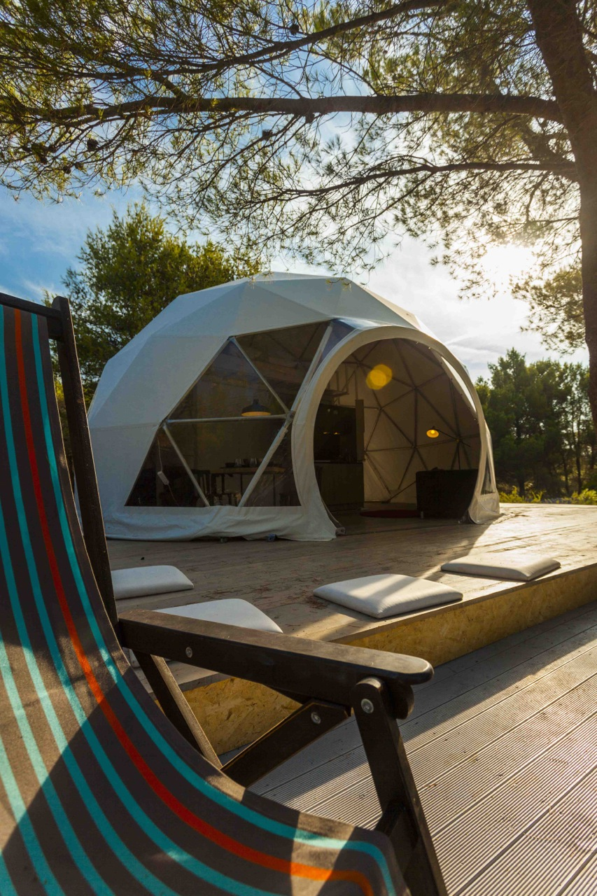 Croatia S First Luxury Glamping Dome Opens For Tourists