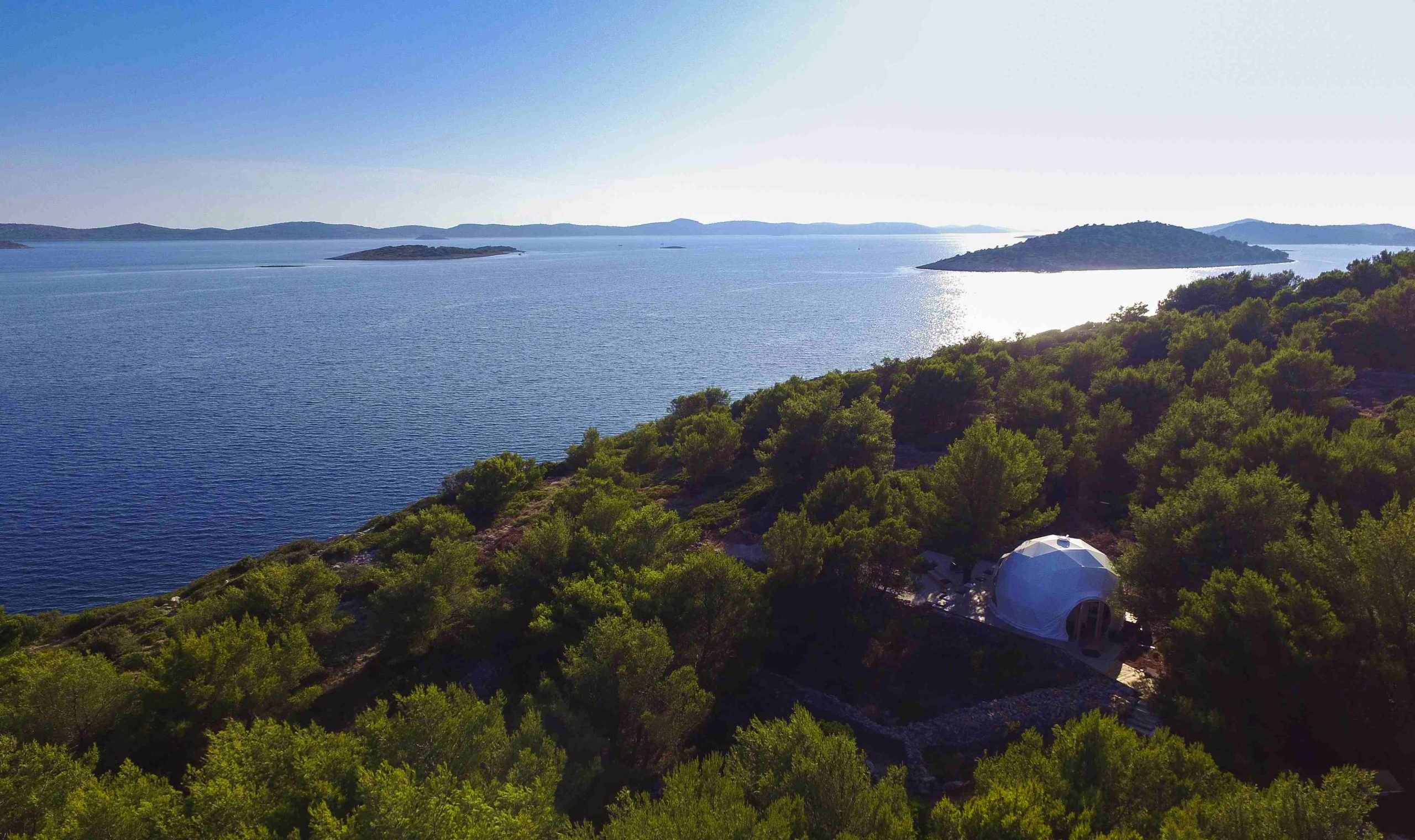 Croatia's First Luxury Glamping Dome Opens for Tourists