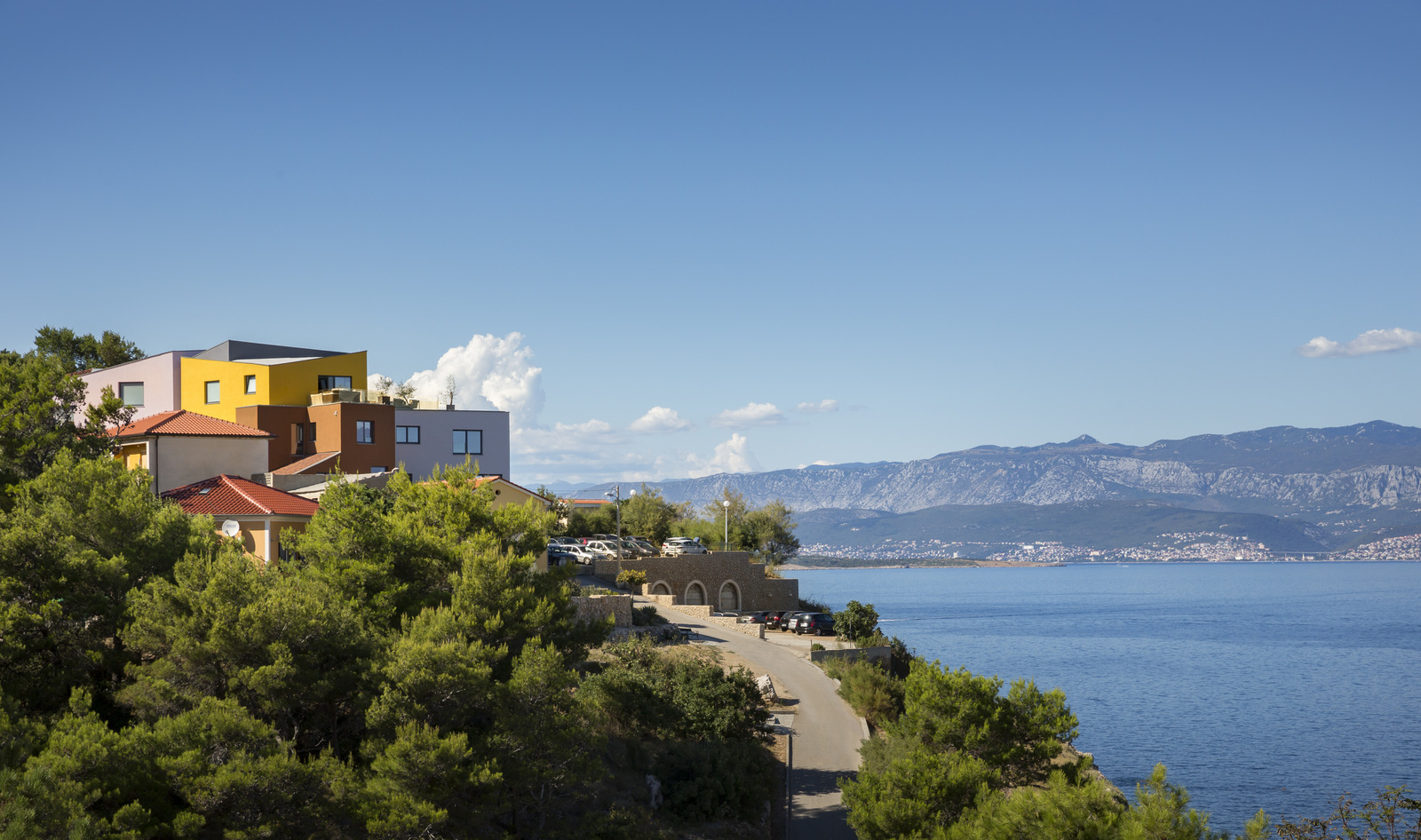 The boutique hotel is situated in an idyllic part of Krk