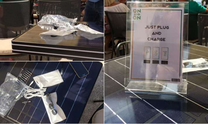 [PHOTOS] First Cafe in Croatia with a Solar Table