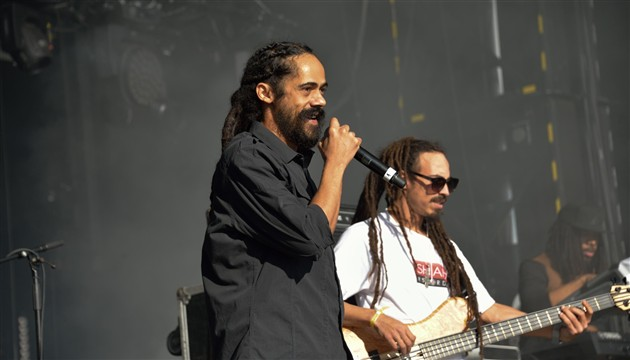Damian Marley performing at Outlook festival (photo credit: Profimedia)