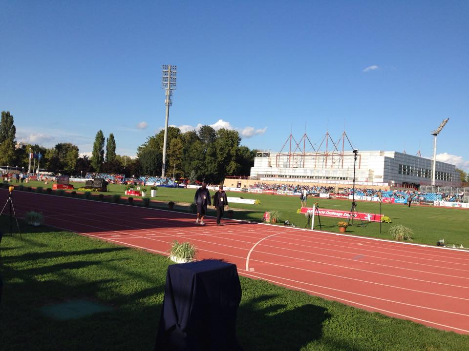 Mladost stadium in Zagreb (photo credit: IAAF World Challenge Zagreb - Hanžek)