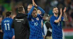 Luka Modrić named captain on Monday (photo credit: HNS)