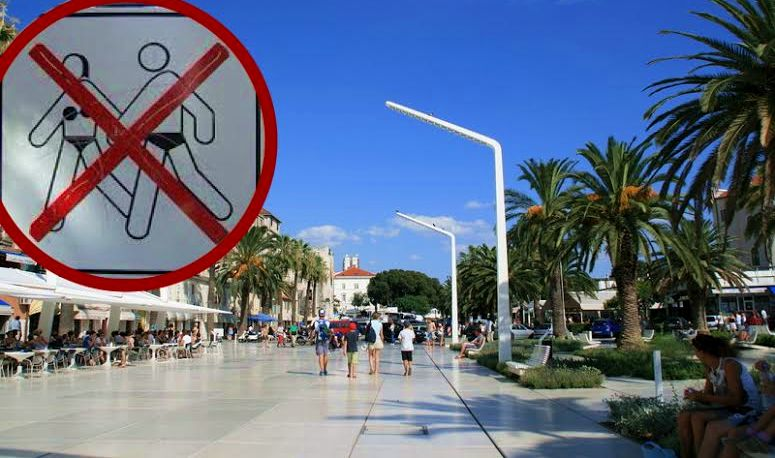 Shirtless Tourists in Split to be Slapped with Fines