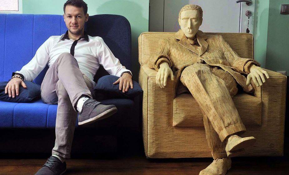 Tomislav with his Al Pacino creation