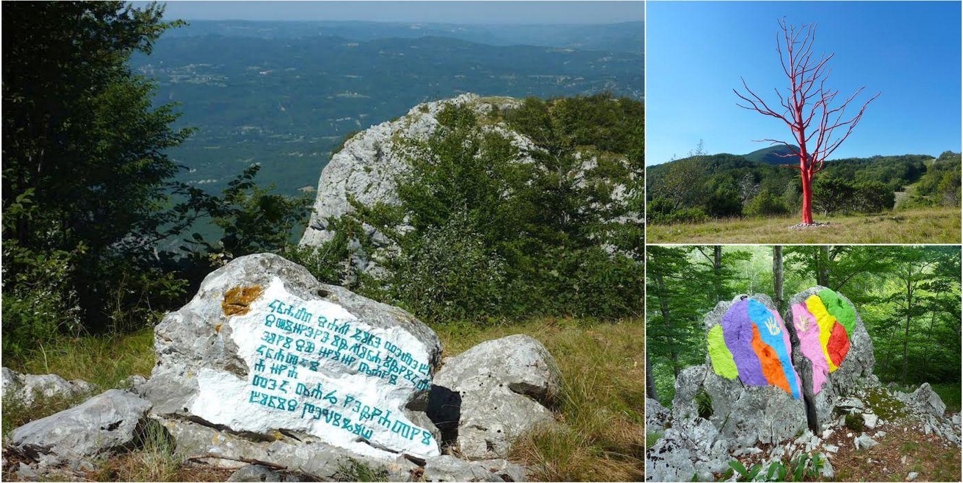[PHOTOS] Land Art Trail Opens in Učka Nature Park