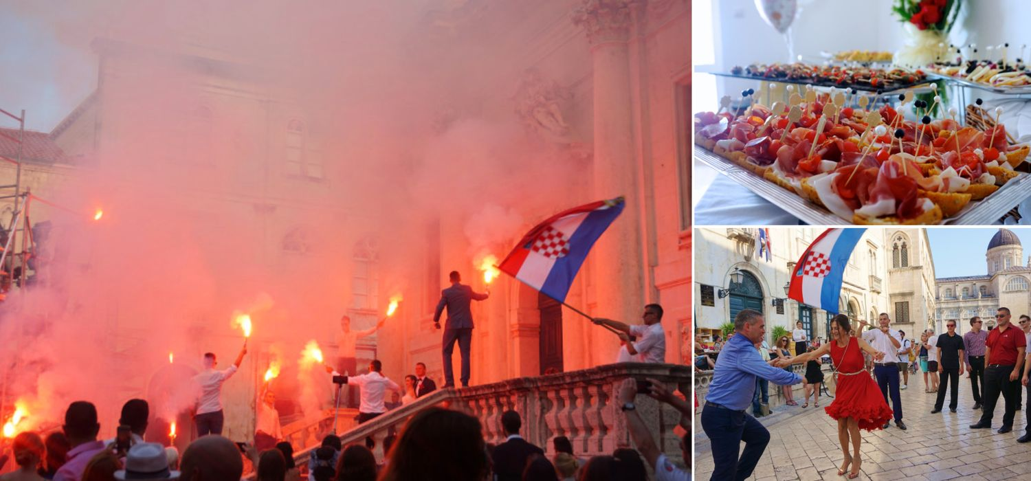Flags, Flares & Accordions: Inside the Croatian Wedding Experience