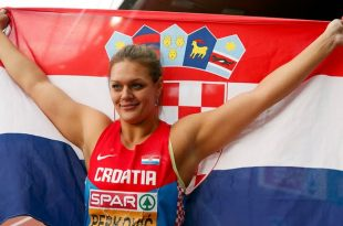 Sandra Perković claimed back to back golds in Rio