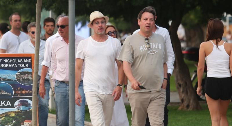 [PHOTO] Brad Pitt Holidaying on the Croatian Coast