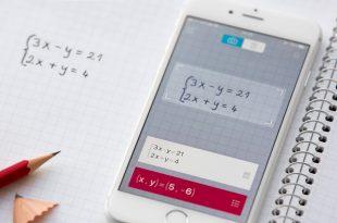 Photmath 3.0 can recognise handwriting (photo: Photomath)