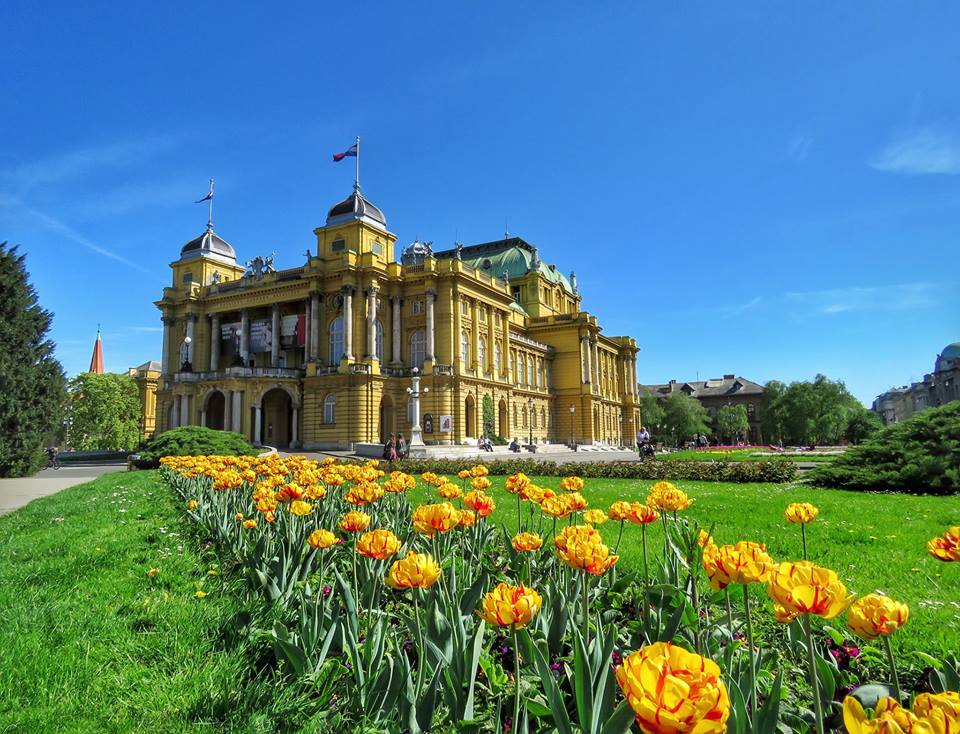 Croatian National Theatre (photo credit: Sandra Tralic)