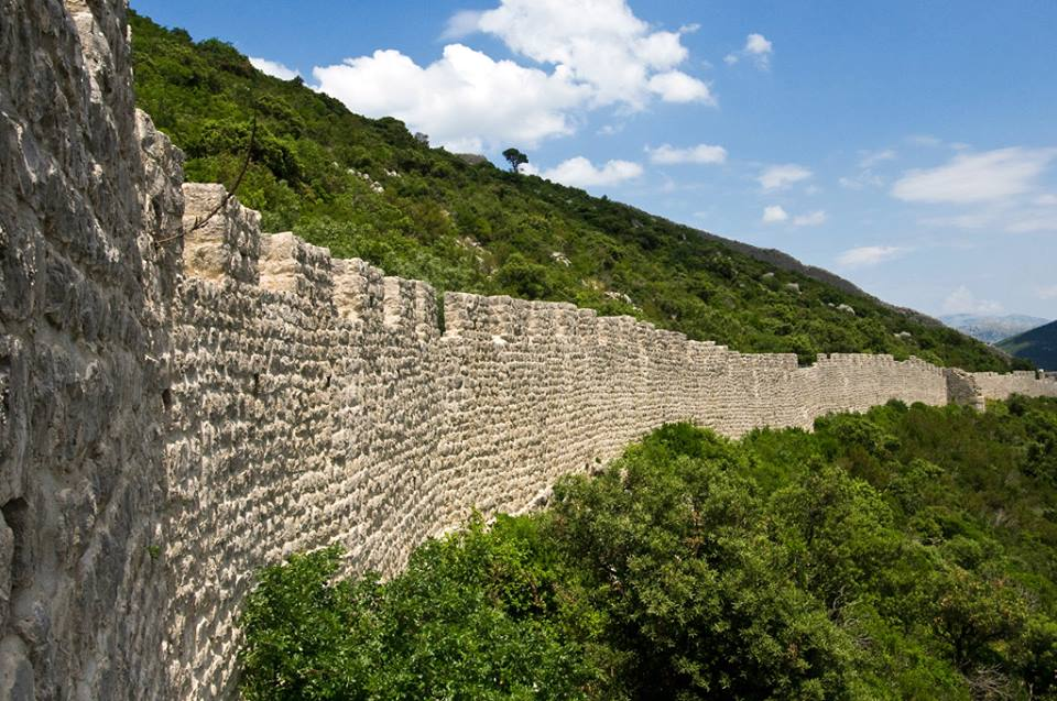 Walls of Ston (photo credit: Ljubo Gamulin / Društvo prijatelja dubrovačke starine)