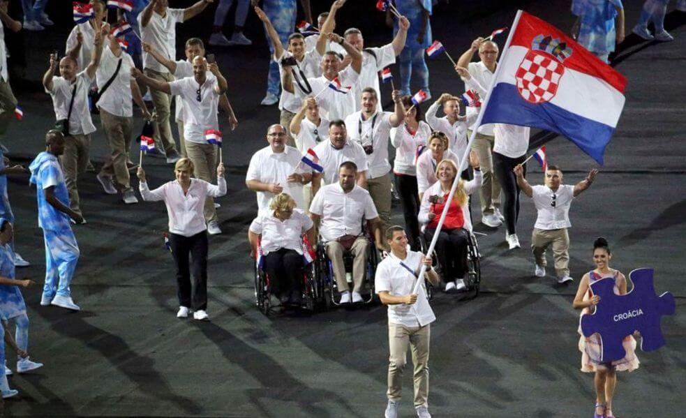 Rio Paralympics 2016: Branimir Budetić Leads Out Croatia at Colourful Opening Ceremony