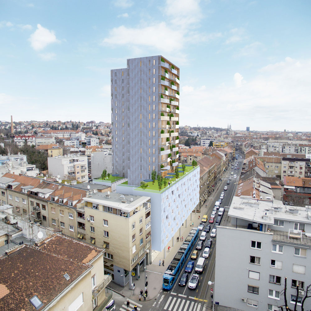 How Crystal Centre on Zagreb's main street will look (photo: Crystal Centre)