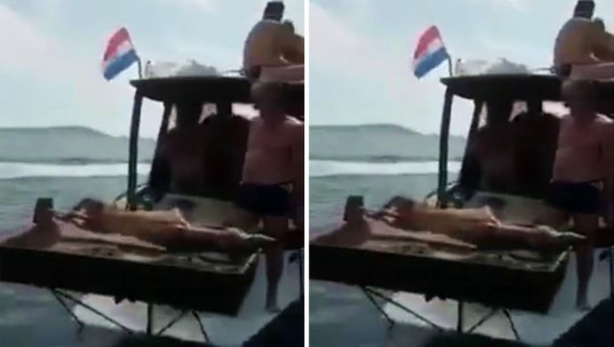 [VIDEO] Lamb on the Spit on the Boat in the Adriatic Video Goes Viral