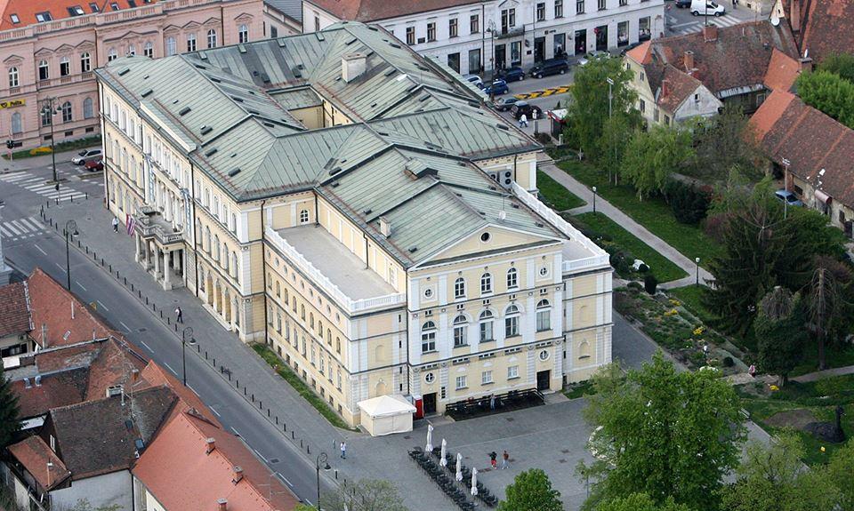 Croatian National Theatre in Varaždin