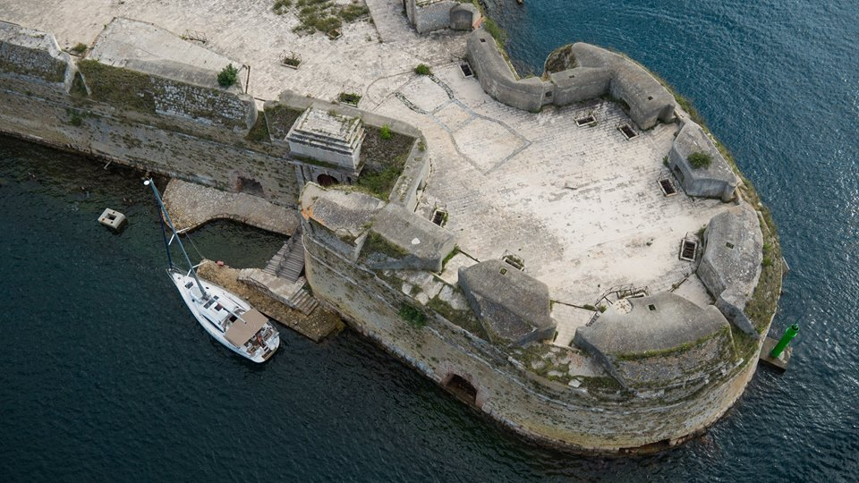 St. Nicholas Fortress built almost 500 years ago (photo credit: Visit Šibenik)