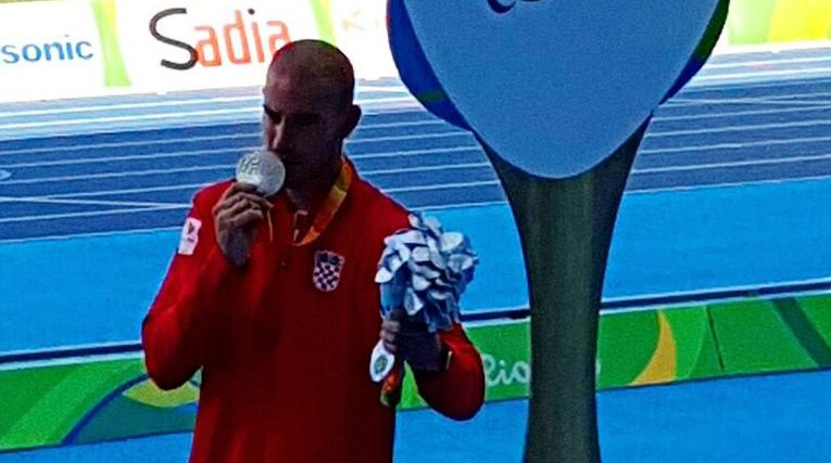 Zoran Talić wins silver in Rio (photo: paraolimpijac)