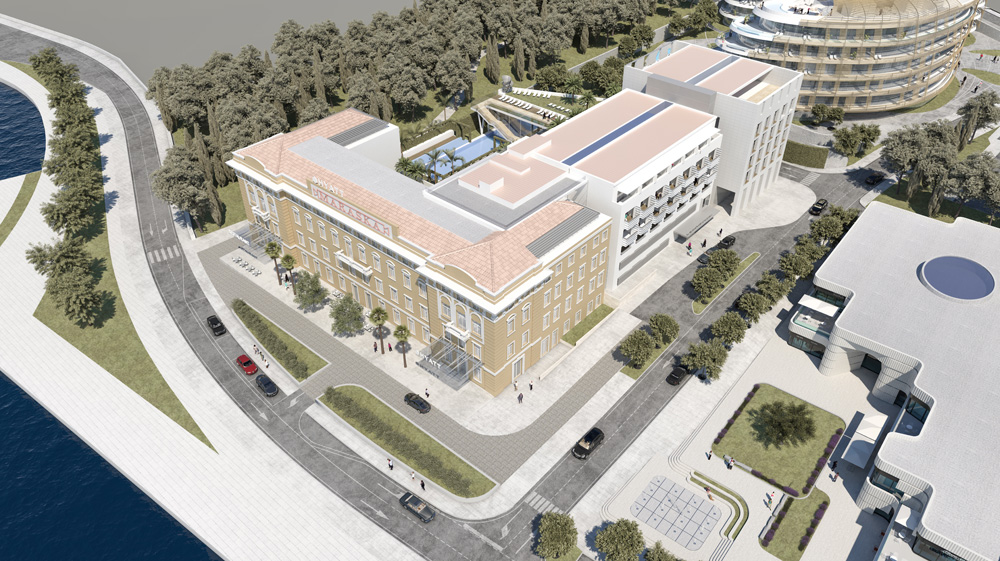 Photos first hyatt hotel in croatia to open in zadar for Hotel design zadar