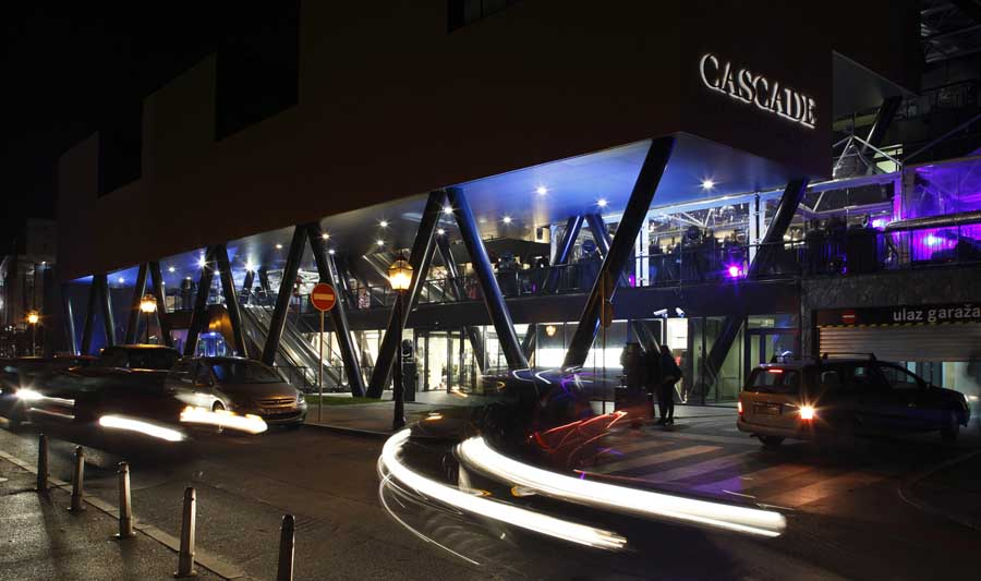 Cascade - the site of the new hotel (photo credit: Radionica Arhitekture)