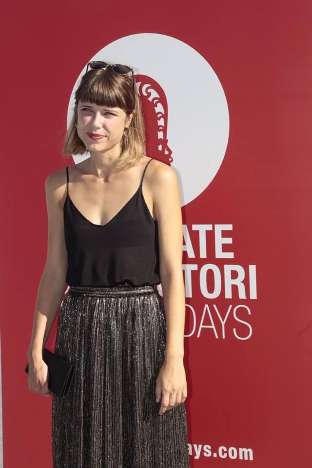 Hana Jušić on the red carpet in Venice