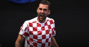 Marin Čilić will lead Croatia in the final (photo credit: Davis Cup Official)