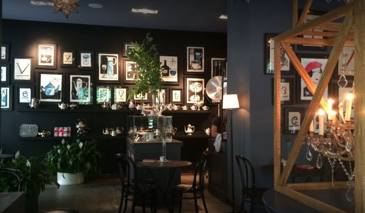 Velvet Cafe in Zagreb (photo credit: Carsten Lindstedt)