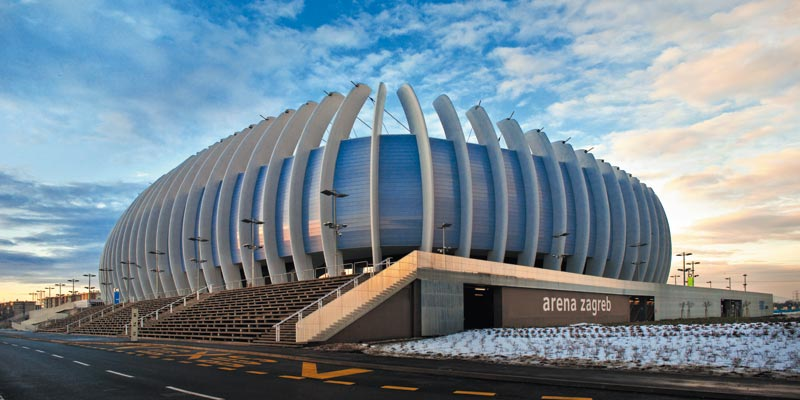 Arena Zagreb to host the Davis Cup final (photo credit: grohe.com)