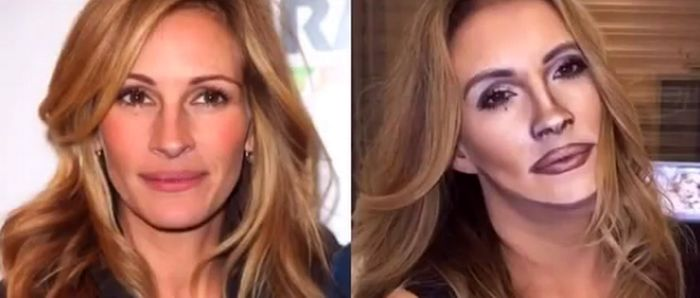 Croatian Make-Up Artist Impresses Julia Roberts After Self Transformation
