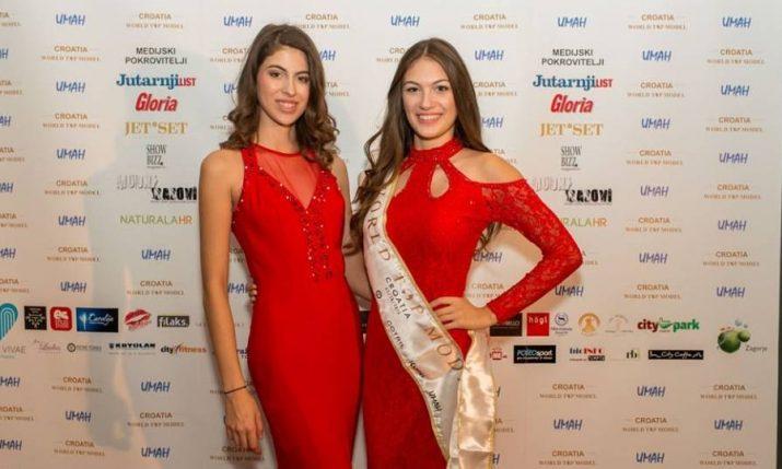 [PHOTOS] World Top Model: Lara Spajić to Represent Croatia in Miami