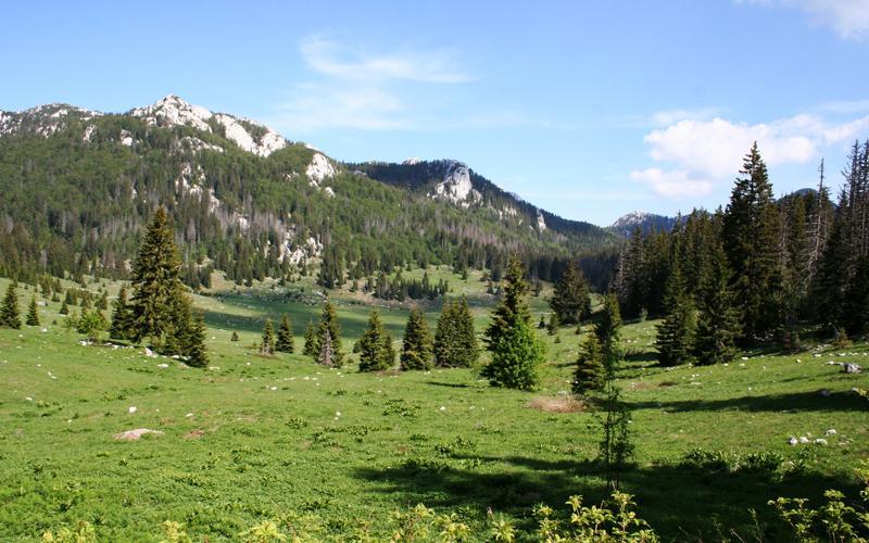 Veliki Lubenovac krast valley on the edge of the strict reserve of Hajdučki kukovi and Rožanski kukovi (photo: parkovihrvatske.hr)