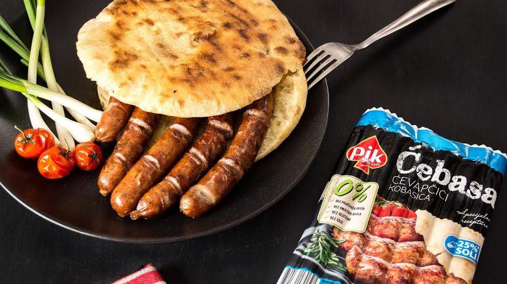 Two Croatian BBQ Classics Fused: Ćevap + Kobasa = Ćebasa