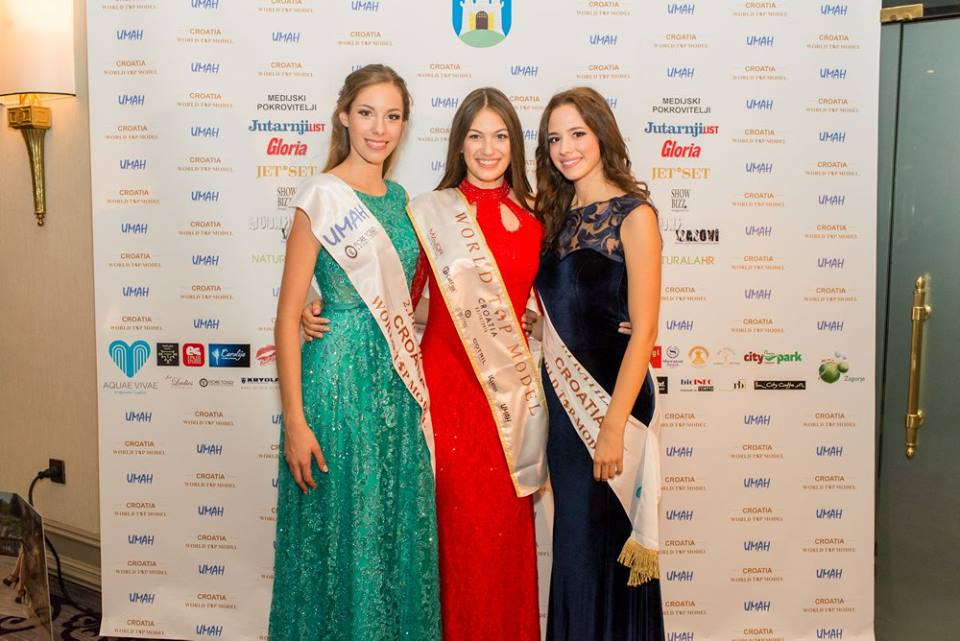 Spajić, Elena Jung, ad Mihaela Rojtinić-Štimac (photo credit: World Top Model Croatia)