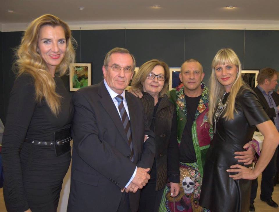 Jelena Maržić, Brilliant Events, Ambassador Grdešić, Mrs. Elena Grdešić, Bari Goddard, Darija Mikulandra, Brilliant Events (photo: Croatian Embassy)