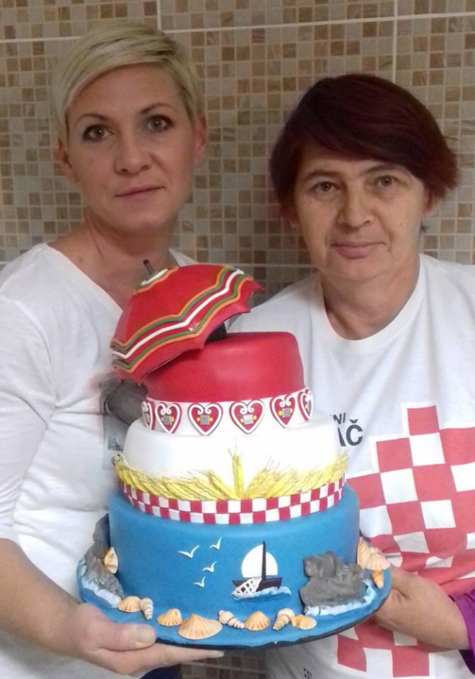 Zvjezdana Anić and Jasminka Kampić