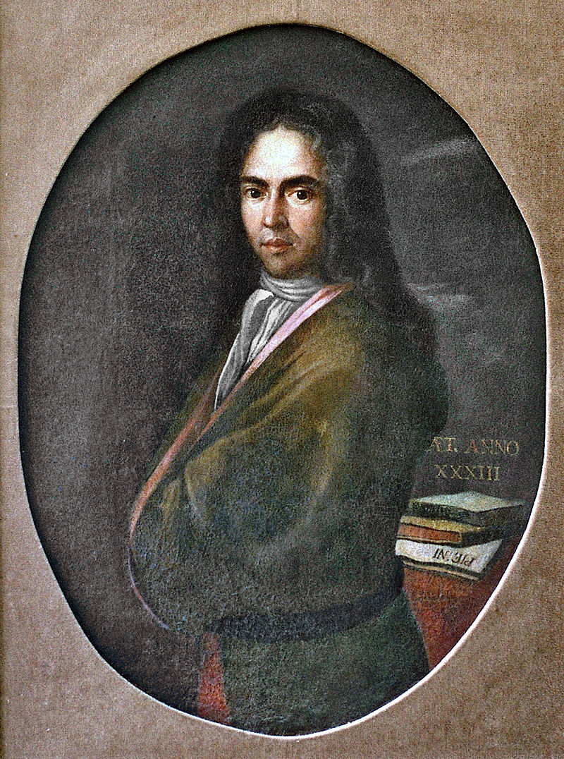 The oldest Croatian portrait of a person wearing a cravat - poet Ivan Gundulic