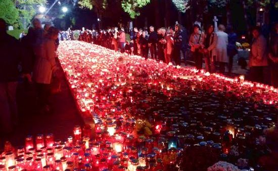 All Saints' Day Observed in Croatia