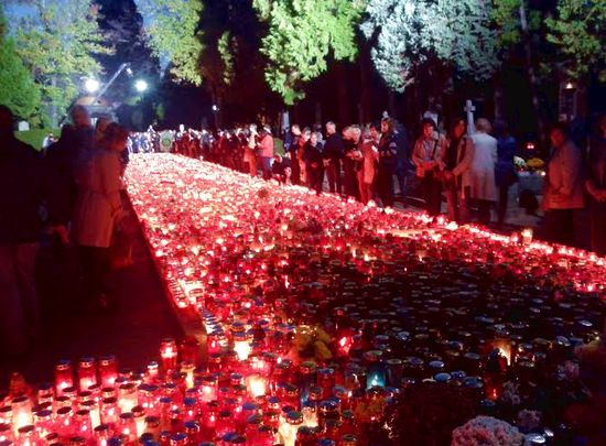 People will head to graveyards today all over Croatia