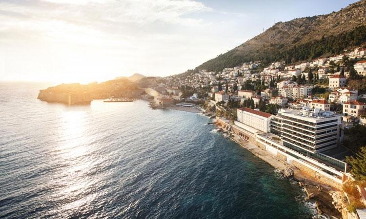 Hotel Excelsior Dubrovnik in the foreground (photo credit: Hotel Excelsior)