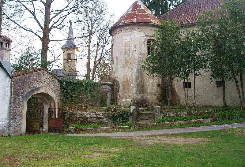Zrinski-Frankopan Castle in Severin na Kupi (photo: Stefo under CC)