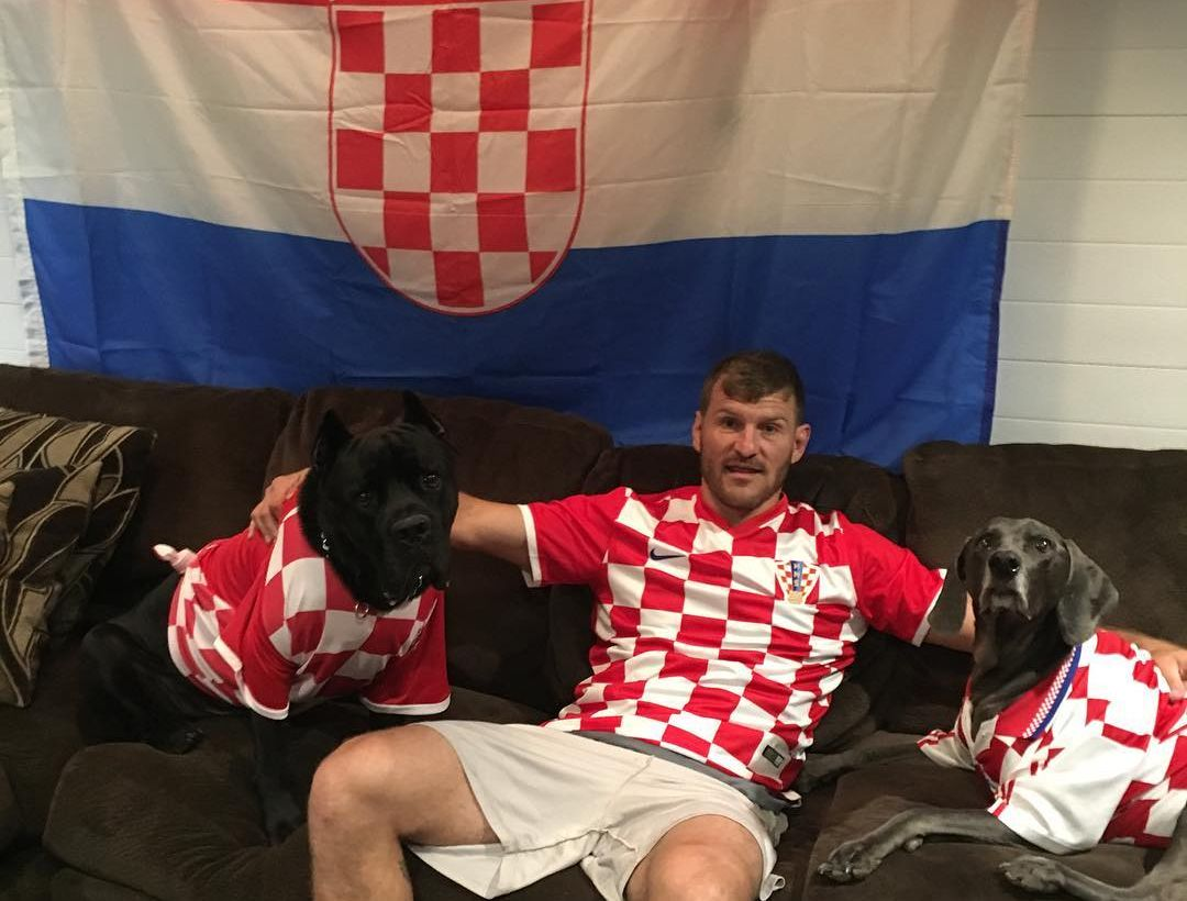 Stipe Miočić coming to Croatia (photo credit: Instagram)