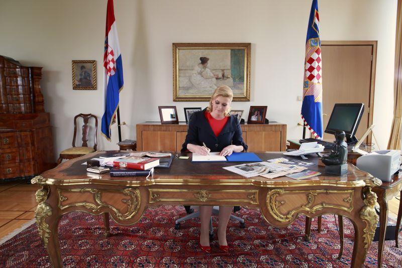 President Kolinda Grabar-Kitarović (photo credit: Ured Predsjednice)