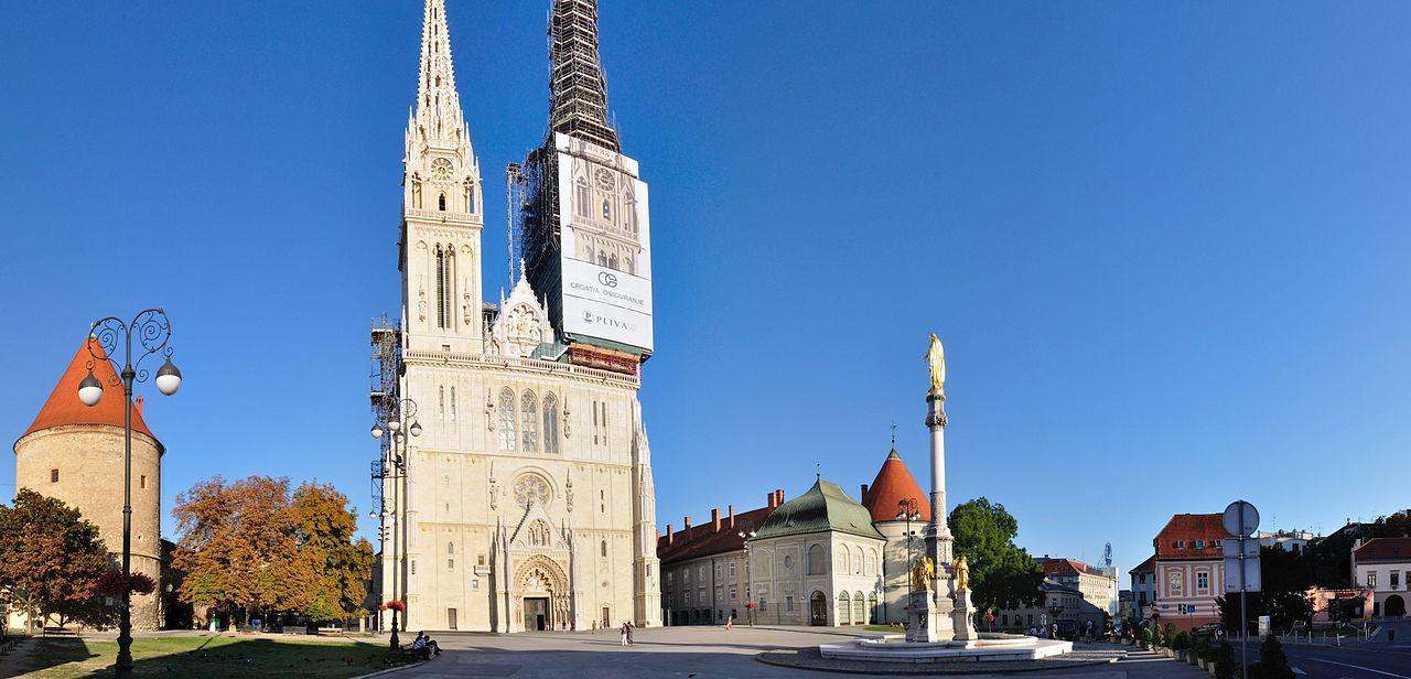 Zagreb Cathedral (photo credit: Hansueli Krapf under CC)