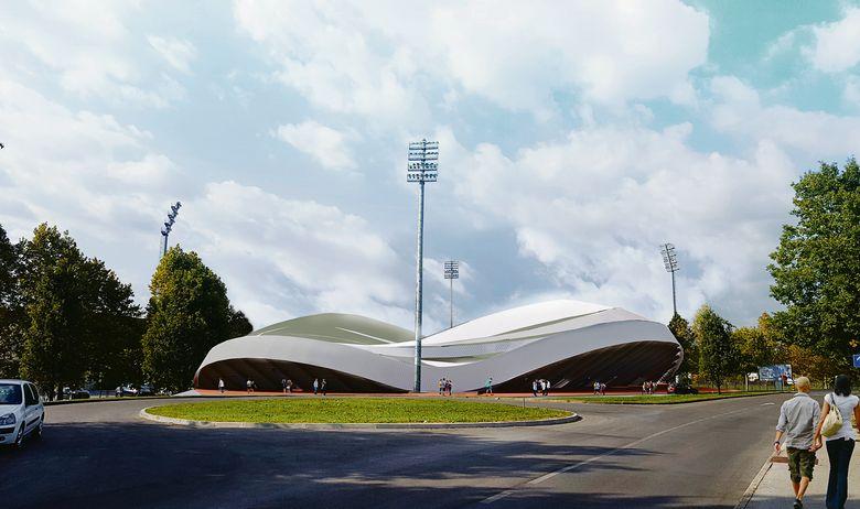 New stadium designed by Davor Mateković from Proarh studio