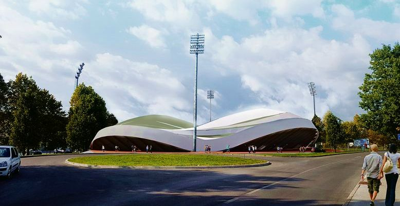 [PHOTOS] New Football Stadium for Zagreb Presented